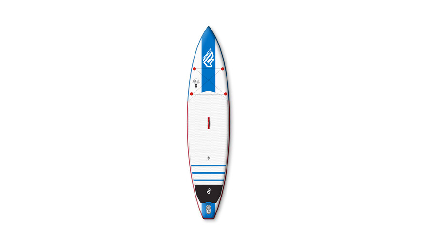 Fanatic Ray Air 12'6''x32'' - Tabla de natación - azul/blanco